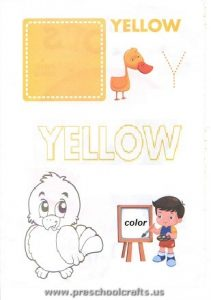 colors worksheets for kids