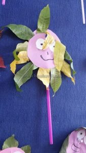 craft related to flower for kids