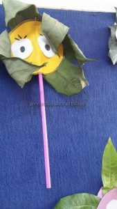 craft related to flower for kindergarten