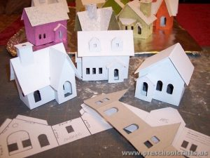 cut paste home projects for kids