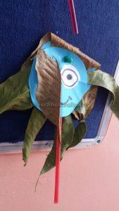 flower craft for kindergarten