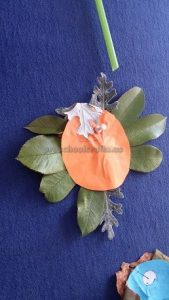 flower craft idea for kindergarten