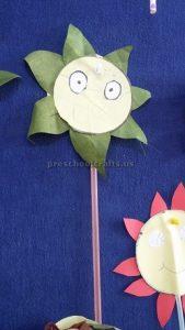 flower craft ideas for kindergarten