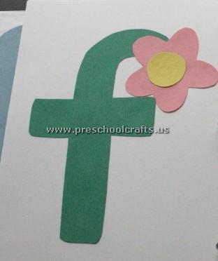 flower letter f craft ideas Preschool Crafts