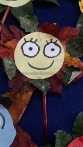 flower theme craft for kids