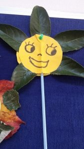flower theme craft ideas for kids