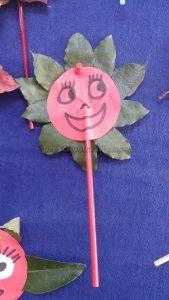 flower theme crafts for kindergarten