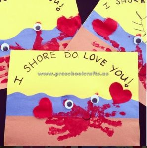 handprint valentines day craft ideas for preschool