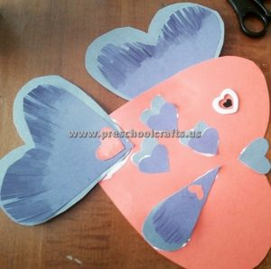 hearts fish crafts for valentines day