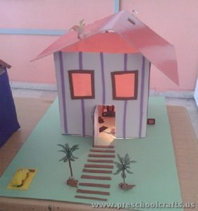 house project activities for kids