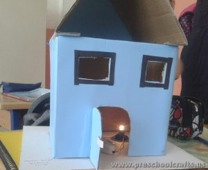 house project ideas from carton box