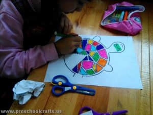 paper turtle crafts for kids