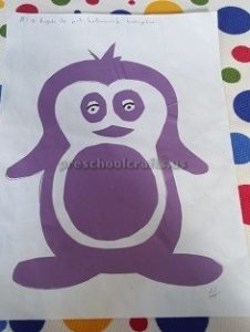 penguin crafts for kindergarten