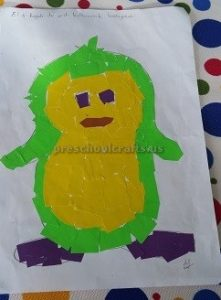 penguin crafts for preschoolers