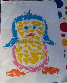 penguin theme craft for kids