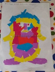 preschool crafts related to penguin theme
