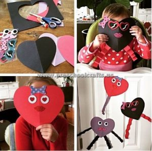 preschoolers valentines day crafts