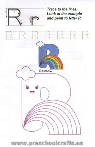 printable letter r worksheets for preschool