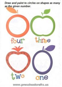 printable preschool numbers worksheets