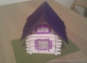 roll house projects for kids