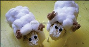 sheep craft for children