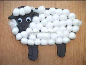 sheep craft idea for first grade