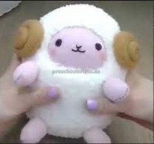 sheep craft idea for toddler