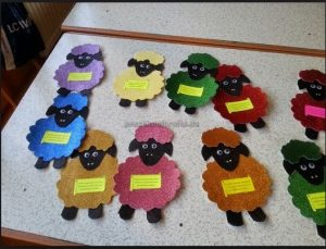 sheep craft ideas for first grade
