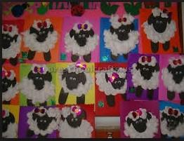 sheep craft ideas for firstgrade