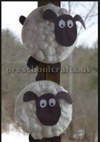 sheep craft ideas for kids