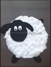sheep craft ideas for preschool