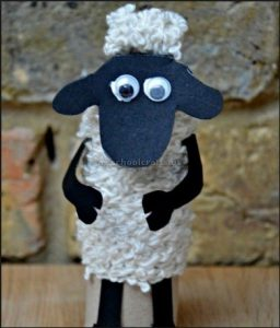 sheep craft ideas for toddler