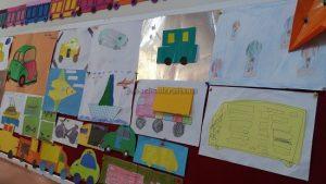 vehicles bulletin board ideas for preschool