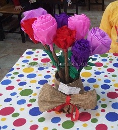Celebrating Women's Day With Our Kids Craft idea