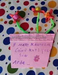 Craft ideas for International Women's Day for Kids