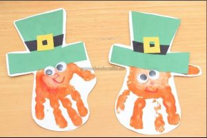Happy St. Patrick's Day craft ideas for preschool