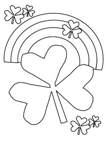 Happy St. Patrick's Day free printable coloring pages
