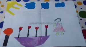 Internetional Women's Day Craft Ideas for Preschool