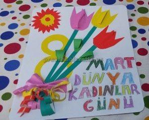 Internetional Women's Day Crafts Idea for Preschool