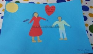 Internetional Women's Day Crafts Ideas for Preschool