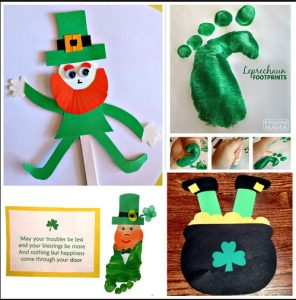 Leprechaun Craft Ideas for St. Patricks Day