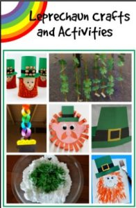 Leprechun Toilet Paper Roll Tree Craft Ideas For St. Patrick's Day