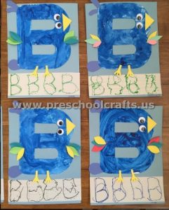 Letter B is for bird
