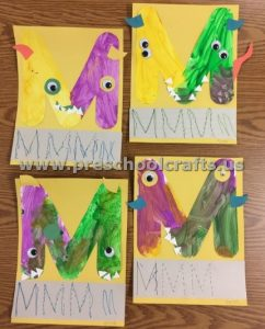 Letter M is for monsters
