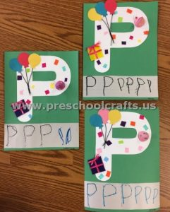 Letter P is for party