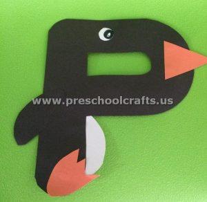 Letter P is for penquin