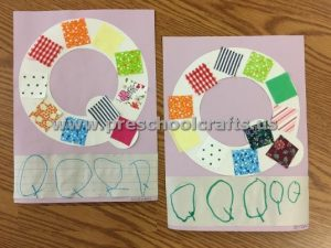 Letter Q is for quilt