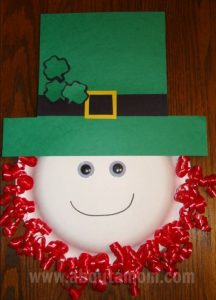 Paper Plate Leprechaun Craft Ideas for St. Patricks Day