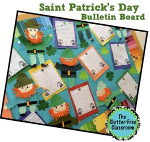 Saint Patrick's Day Bulletin Board