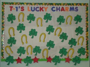 Saint Patrick's Day Bulletin Board Ideas